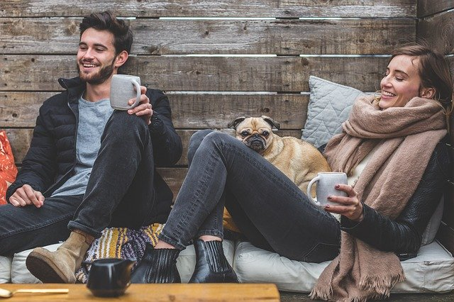 a stress-free couple