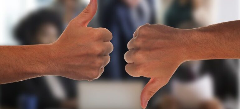 You will have to handle negative reviews online, along with positive ones.