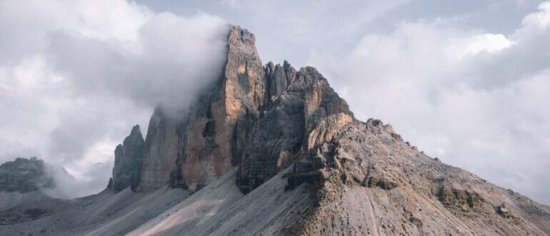 A picture of a mountain top