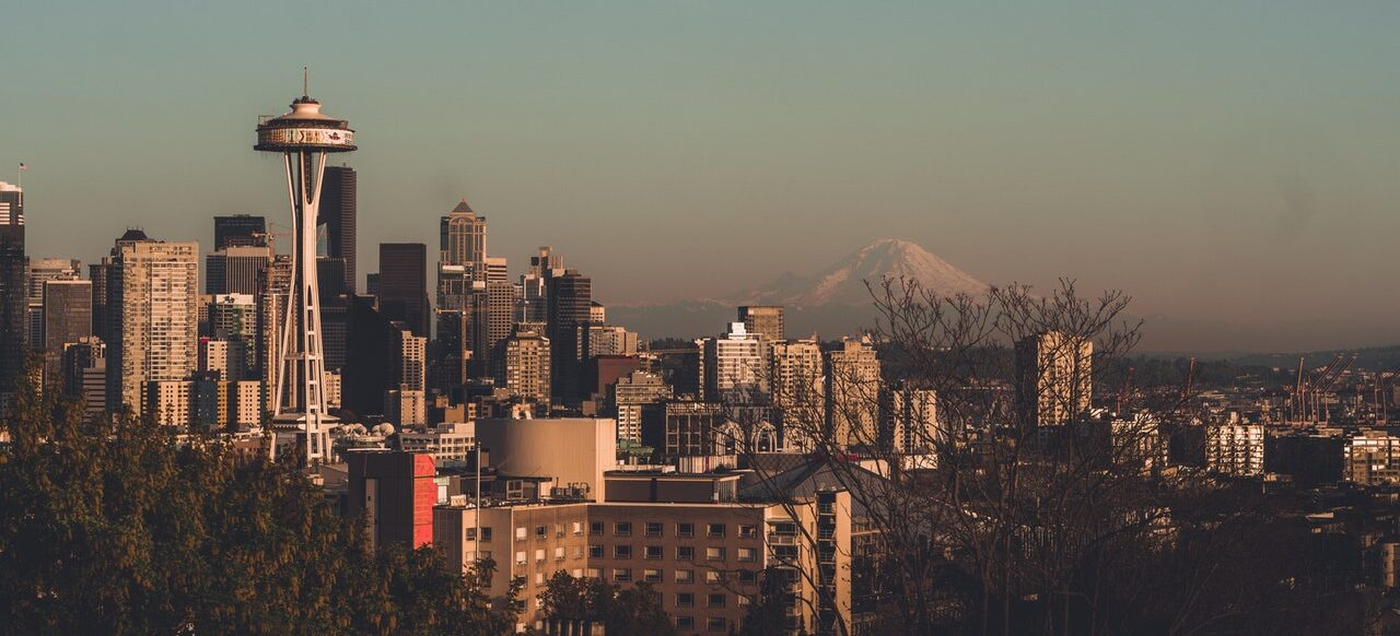 A view of Seattle.