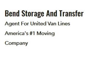 Bend Storage And Transfer