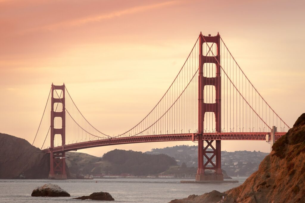 What to expect after you are done moving from New York to California - san francisco bridge