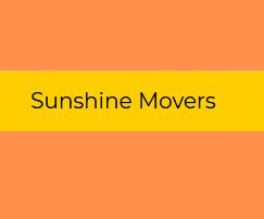 Sunshine Movers