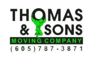 THOMAS & SONS MOVING COMPANY