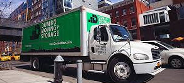 dumbo moving and storage company truck