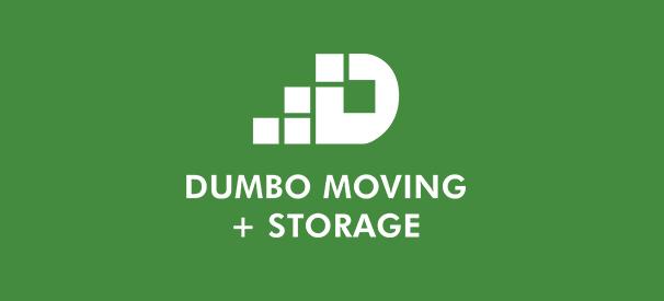 dumbo moving and storage company logo