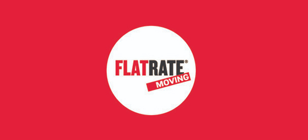 flatrate moving company logo