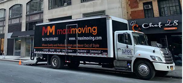 maxi moving company truck