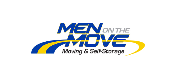 men on the move moving & storage company logo