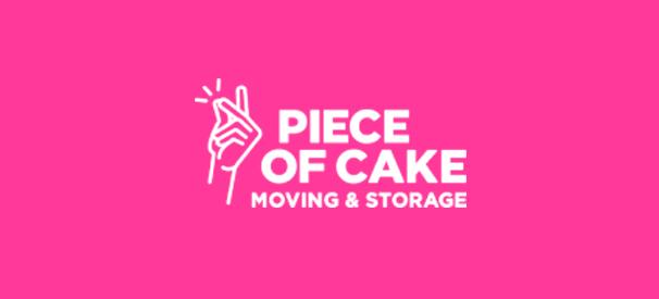 peace of cake moving & storage company logo