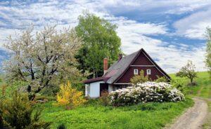 A beautiful countryside home