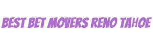 Best Bet Movers Reno Tahoe