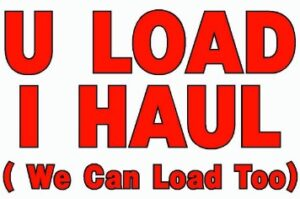 U-Load I-Haul, We Can Load Too
