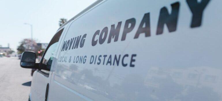 moving company van