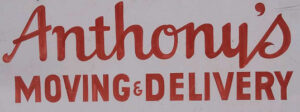 Anthony's Moving & Delivery Services