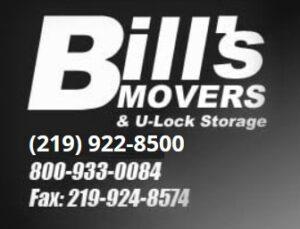 Bill's Movers and U-Lock Storage