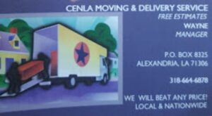 Cenla Moving & Delivery Services