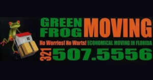 Green Frog Moving