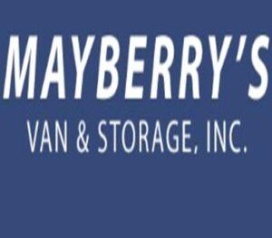 Mayberry's Van & Storage