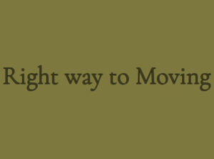 Right Way to Moving