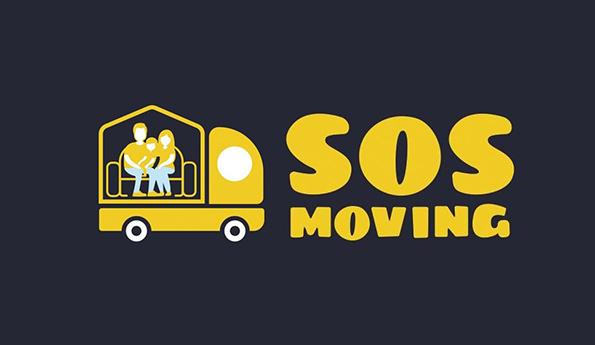SOS Moving and Storage company logo