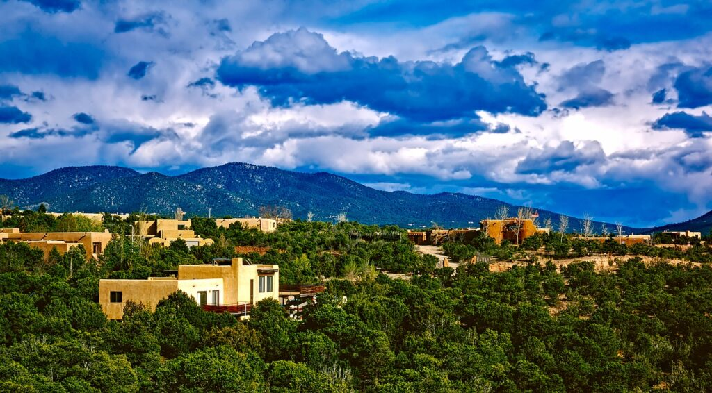 Santa Fe in New Mexico