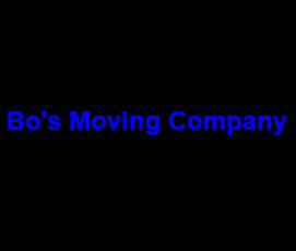 Bo's Moving Company