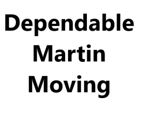 Dependable Martin Moving