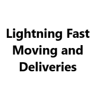Lightning Fast Moving and Deliveries