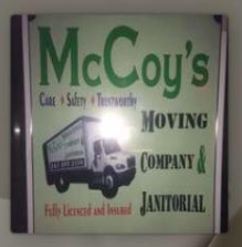 McCoy`s Moving Company & Janitorial