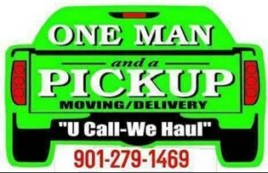 One Man and a Pickup Moving/Delivery