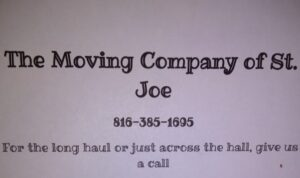 The Moving Company of St.Joe