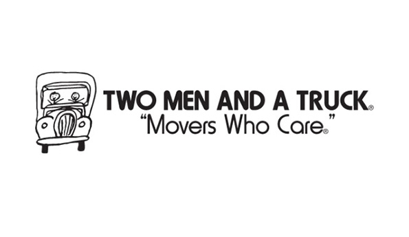 Two Men and a Truck company logo