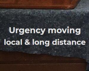 Urgency Moving