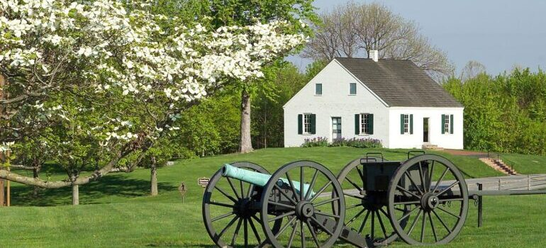 one of the places to visit first after your move to Maryland - the countryside