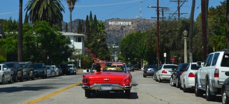 Landscape of Los Angeles.