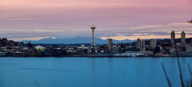 Landscape of Seattle.