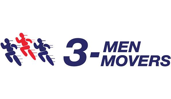 3 Men Movers company logo
