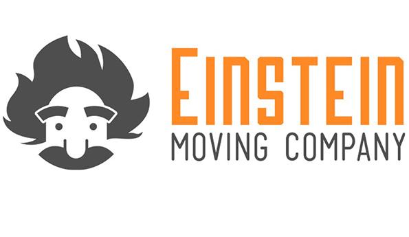 Einstein Moving Company logo