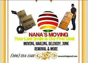 Nana's Moving & Hauling Services
