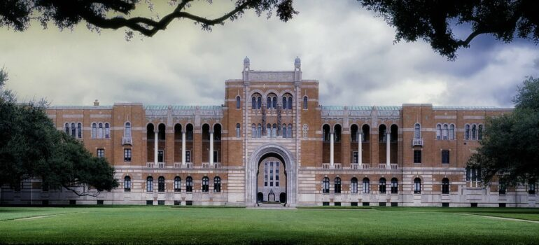 Rice University is one good reason for moving from Atlanta to Houston